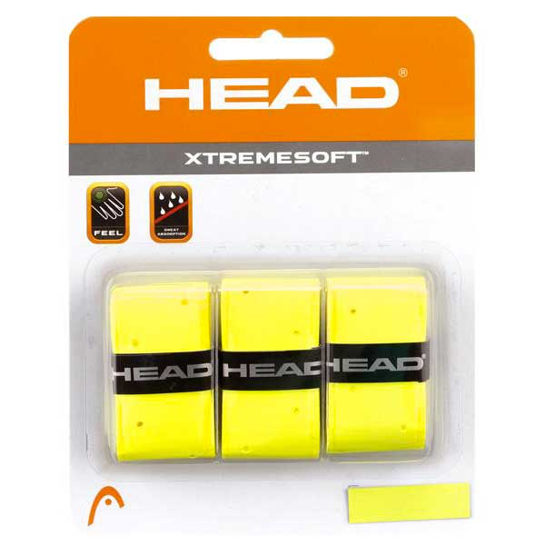 Head Racket Xtreme Soft 3 Units One Size Yellow
