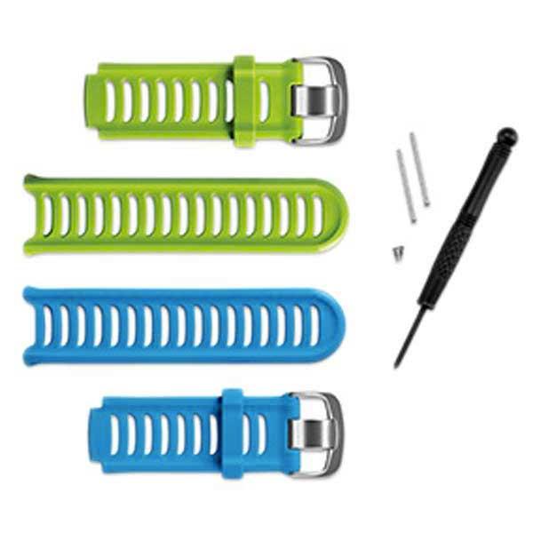Garmin Kit De Sangle 910xt One Size Blue / Green