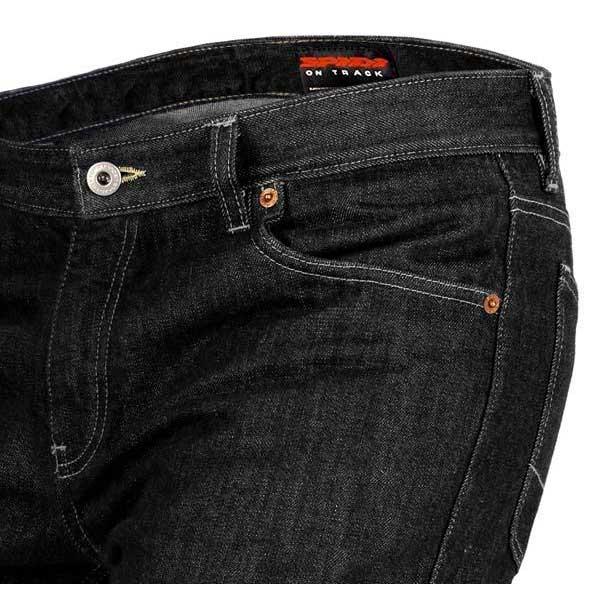 Spidi-Virous-Pants-Noir-T18299-Pantalons-Homme-Noir-Pantalons-Spidi-moto miniature 5
