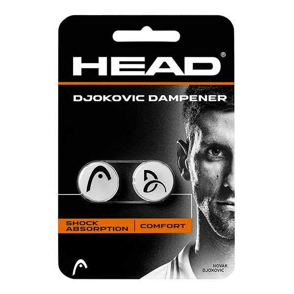 Head Racket Djokovic Dampener 2 Units One Size Grey / Black