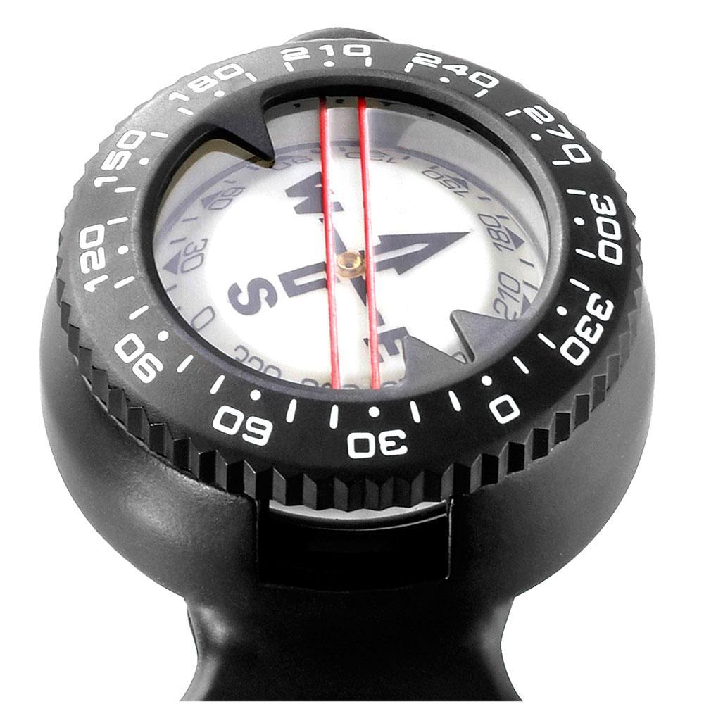 KONSOLEN 2 Elemments Miniconsole Pressure Gauge/compass