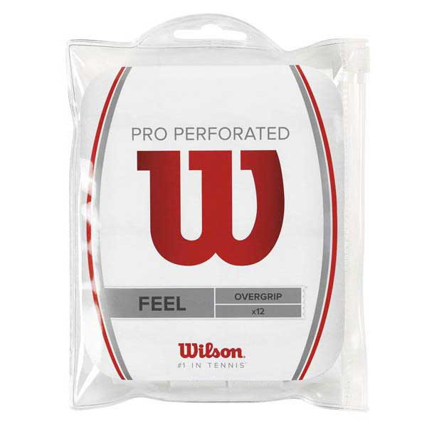 Wilson Pro Perforated 12 Units One Size White