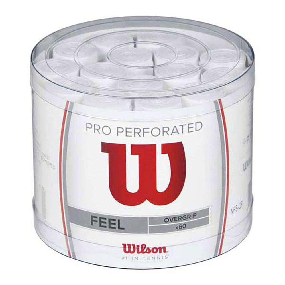 Wilson Pro Perforated 60 Units One Size White