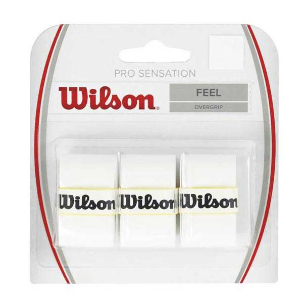 Wilson Pro Sensation 3 Units One Size White