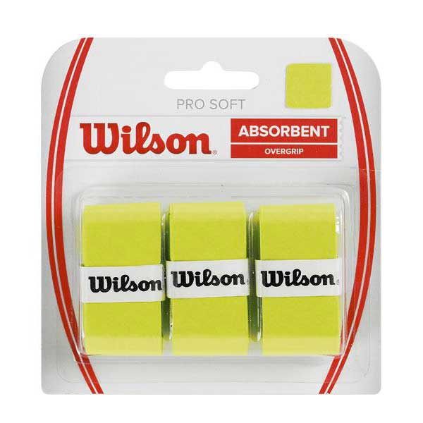 Wilson Pro Soft 3 Units One Size Lime