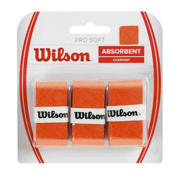 Wilson Pro Soft 3 Units One Size Orange