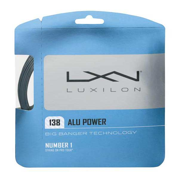 Luxilon Alu Power 12.2 M 1.38 mm Silver