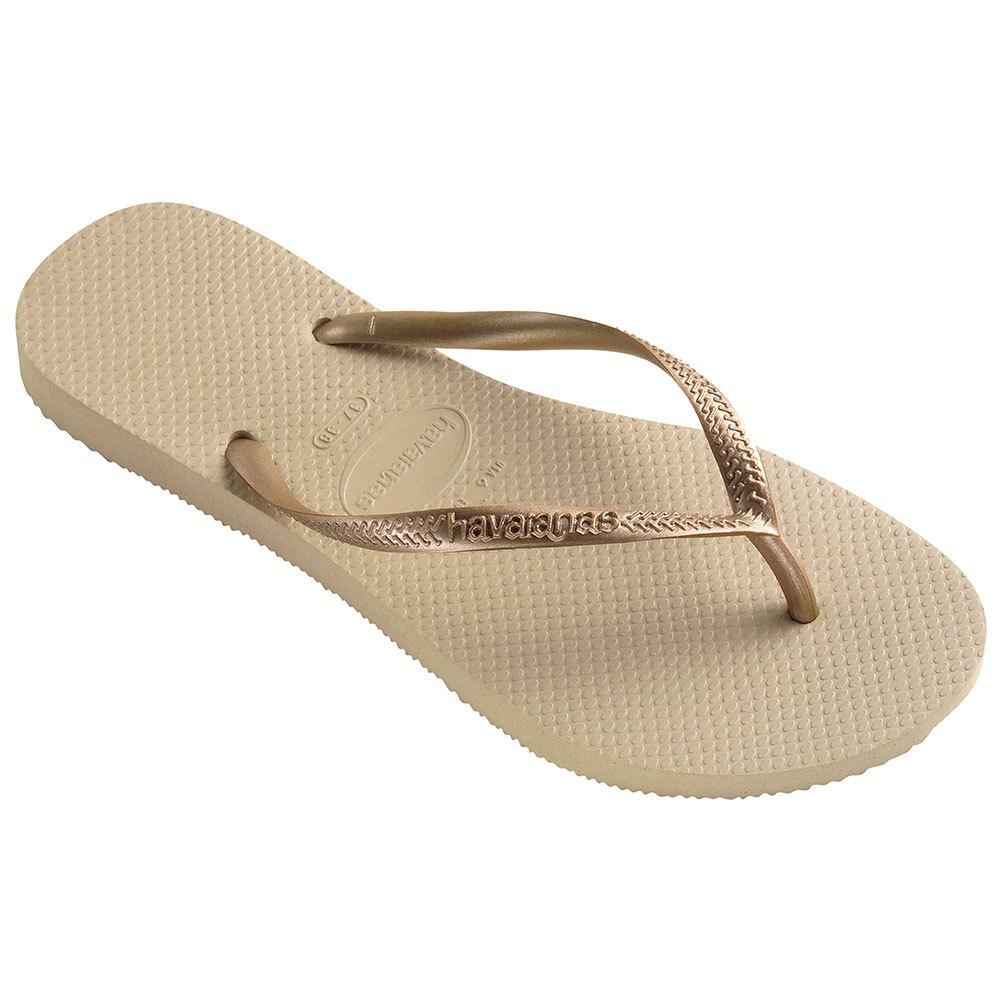 Havaianas Slim EU 37-38 Sand Grey / Light Golden