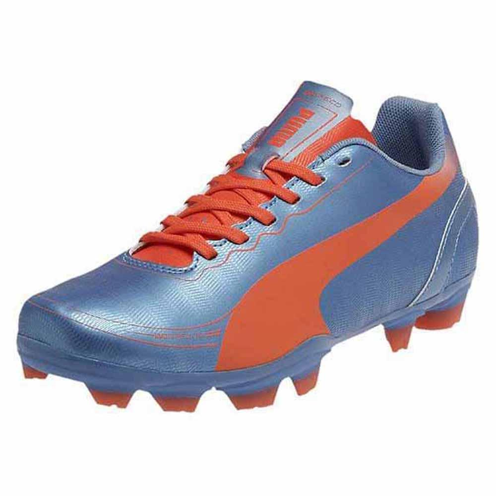 Puma Evospeed 5.2 Fg Junior EU 37 1/2 Sharks Blue / Flureo Peach