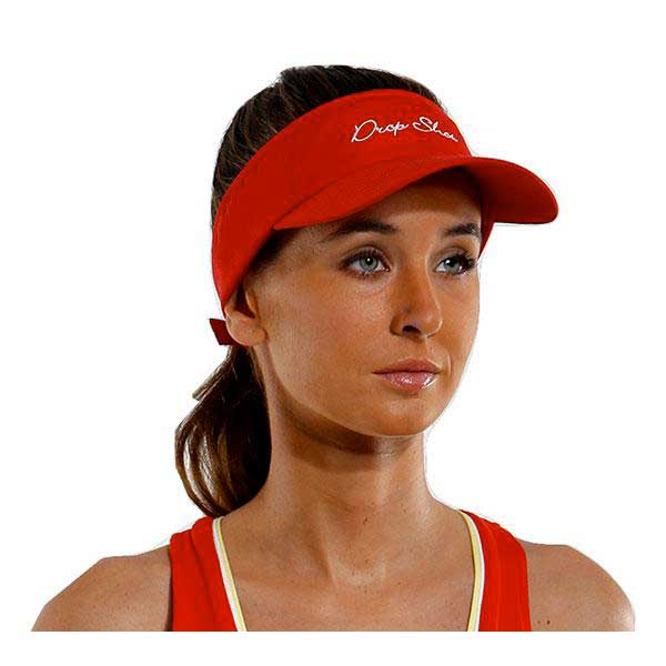 Drop Shot Visor One Size Red