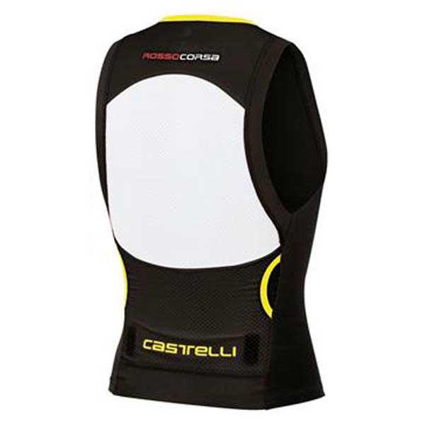 castelli-top-free-tri-s-black-yellow-fluo