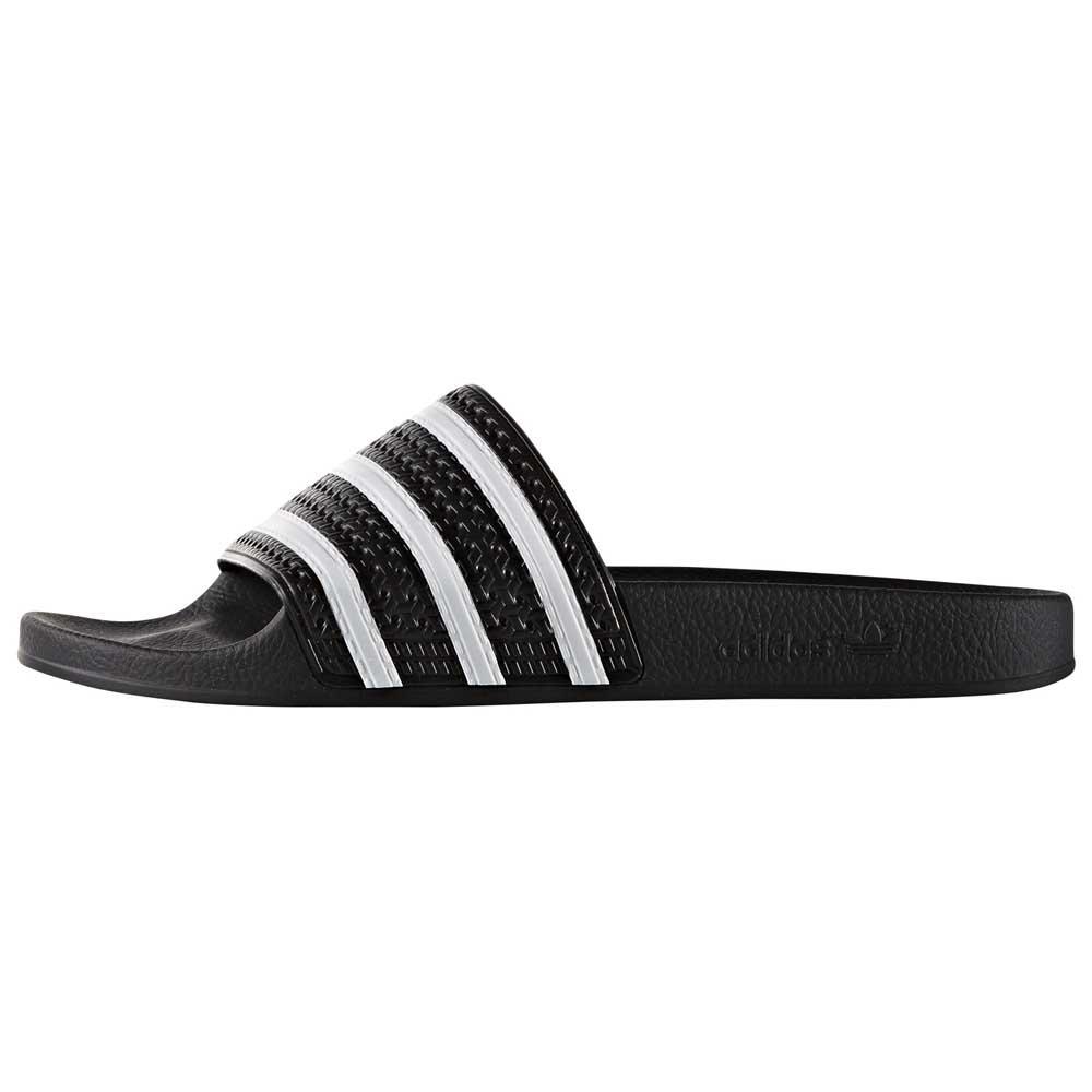 Tantos Puro Intacto  Adidas Originals Adilette Negro T69726/ Chanclas Negro , Chanclas , moda |  eBay