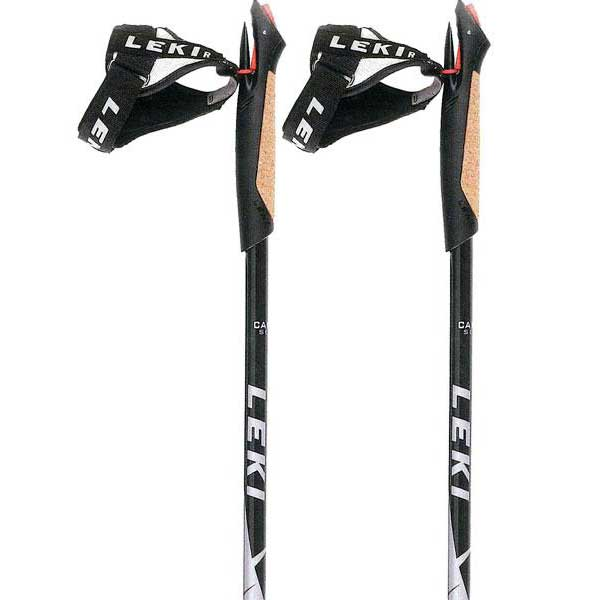 Leki Flash Shark Nordic Walking 100 cm Grey / Red