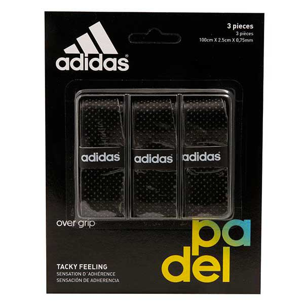 Adidas Padel Tacky Feeling 3 Units One Size Black