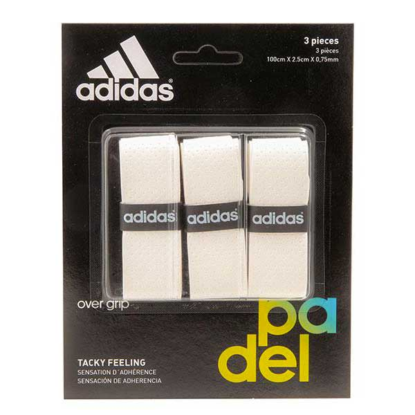 Adidas Padel Tacky Feeling 3 Units One Size White