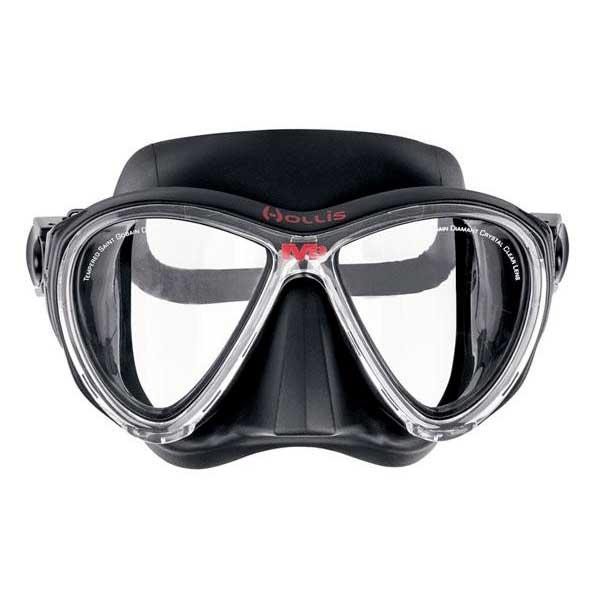 Hollis M 3 Tauchermaske Black Tauchmasken M 3 Tauchermaske