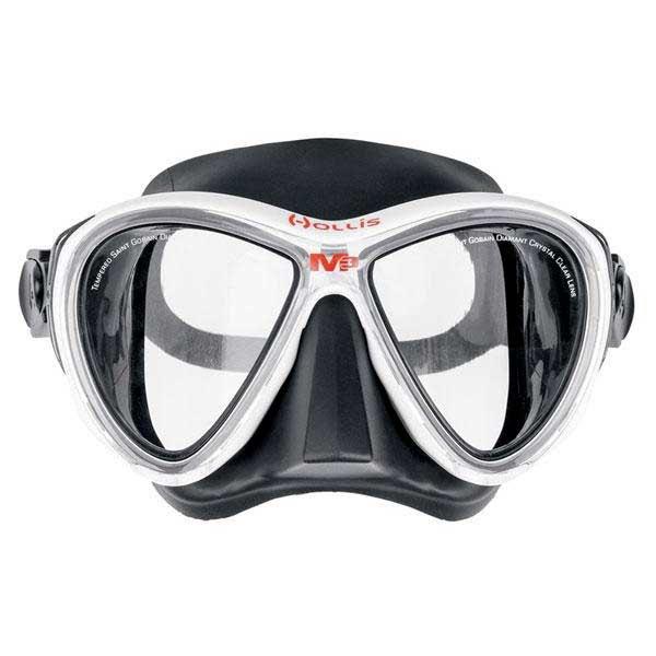 Hollis M 3 Tauchermaske White Clear Tauchmasken M 3 Tauchermaske