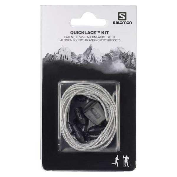 Salomon Quicklace Kit One Size Grey