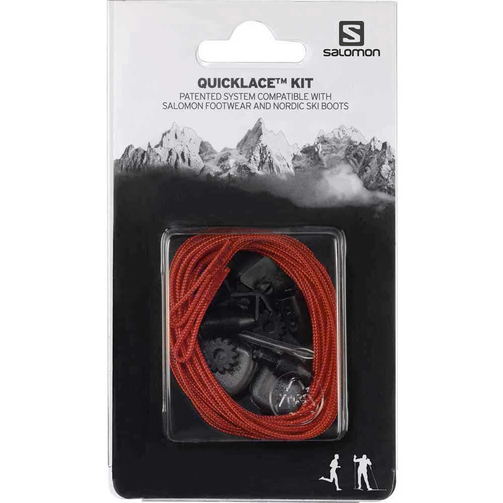 Salomon Quicklace Kit One Size Red