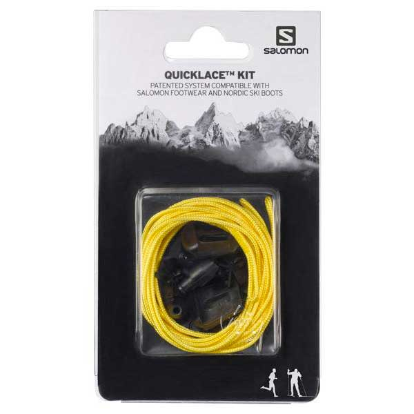 Salomon Quicklace Kit One Size Yellow