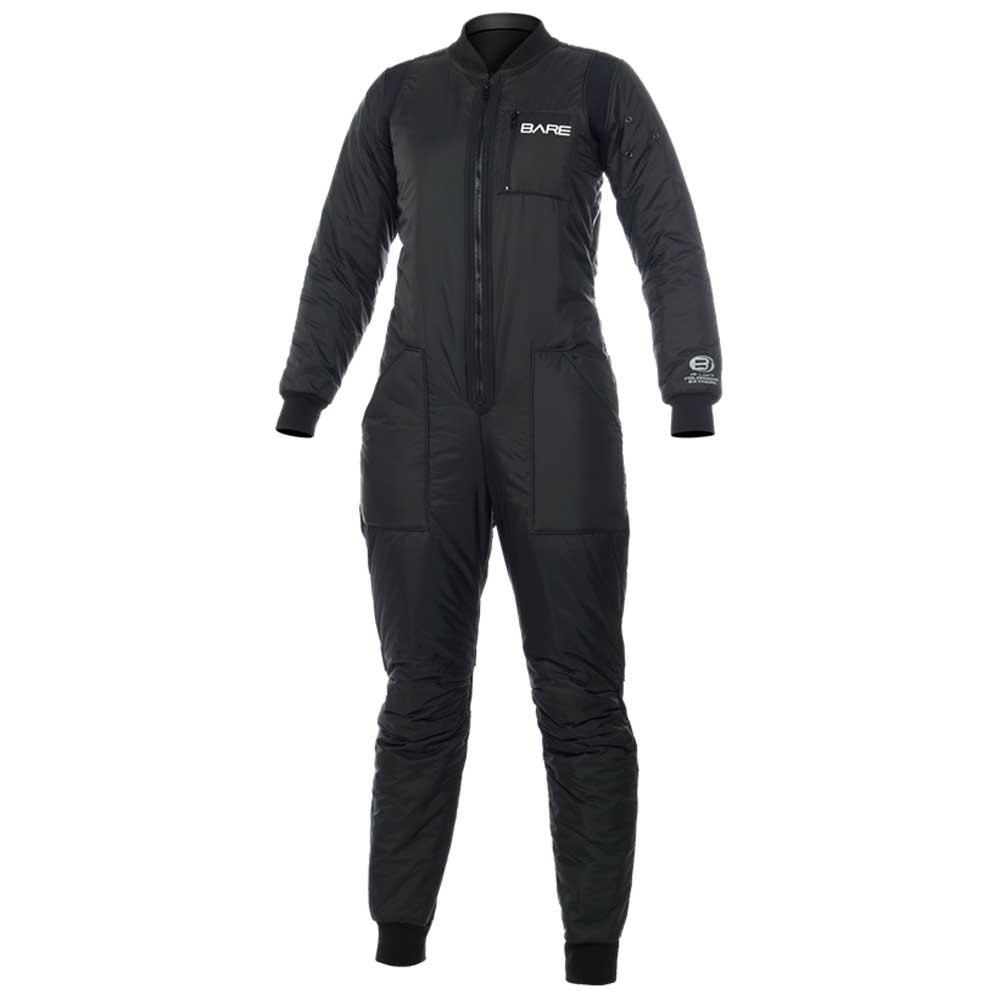Bare Hi Loft Polarwear Extreme Dame M Black Thermo und UV-Schutz Hi Loft Polarwear Extreme Dame