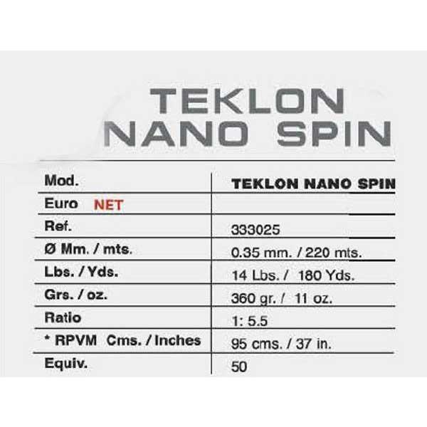 Teklon Nano Teklon Spin MulticolouROT , Angelrollen Teklon Nano , angelsport b50f60