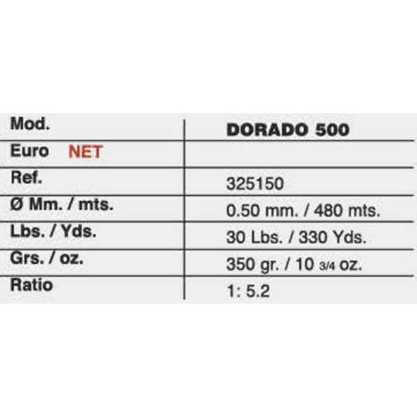 Grauvell Dorado , 500 MulticolouROT , Dorado Angelrollen Grauvell , angelsport 03c48c