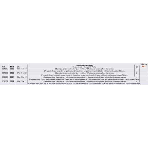 Grauvell-Tackle-Tray-5001-Multicolor-T35537-Cajas-Unisex-Multicolor-Cajas miniatura 8