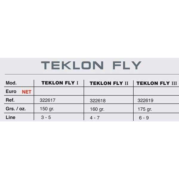 Teklon Fly Iii 175 gr , Angelrollen Teklon angelsport , angelsport Teklon , Angelausrüstung 406d9e
