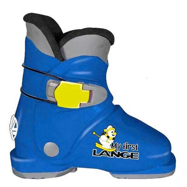 Lange My First Alpine Ski Boots 21.5 Blue