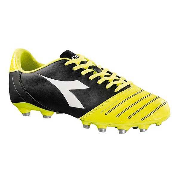 Diadora Classic Evoluzion R Mg Sg EU 41 Black / Yellow / Fluo