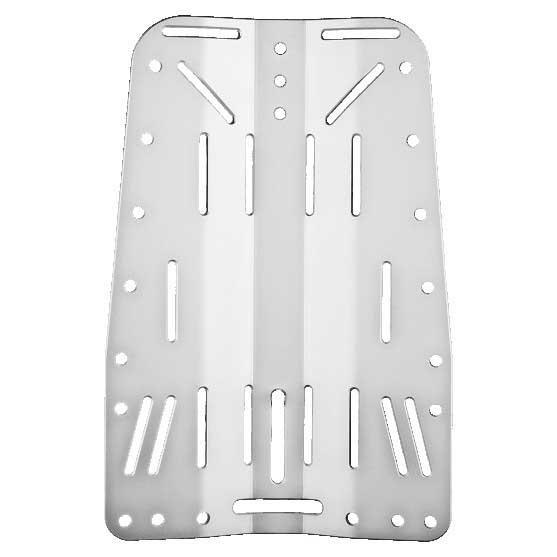 Xdeep Aluminium Backplate Silver Einzelteile Aluminium Backplate