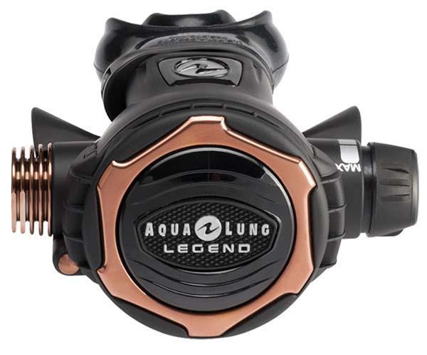 Aqualung Legend Lux 2. Stufe Atemregler Black Atemregler 2 Stufe Legend Lux 2. Stufe Atemregler