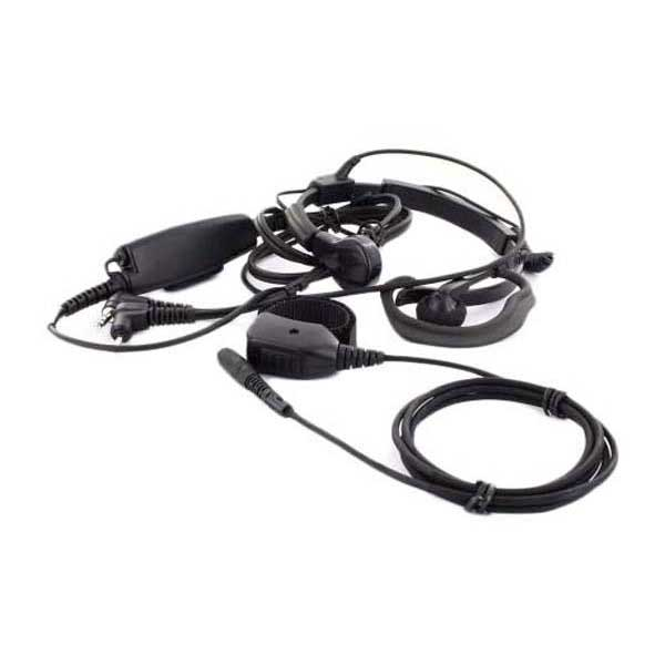 Midland Throat Microphone Headset With Ptt And Finger Finger And Ptt Ae 38 MulticolouROT 8ef3b9
