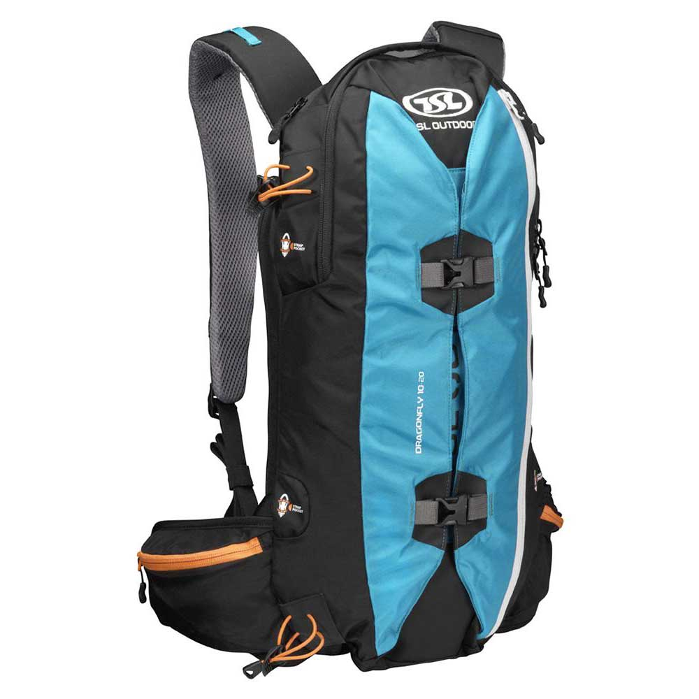 Tsl Outdoor Dragonfly 10/20l Backpack One Size Blue / Black
