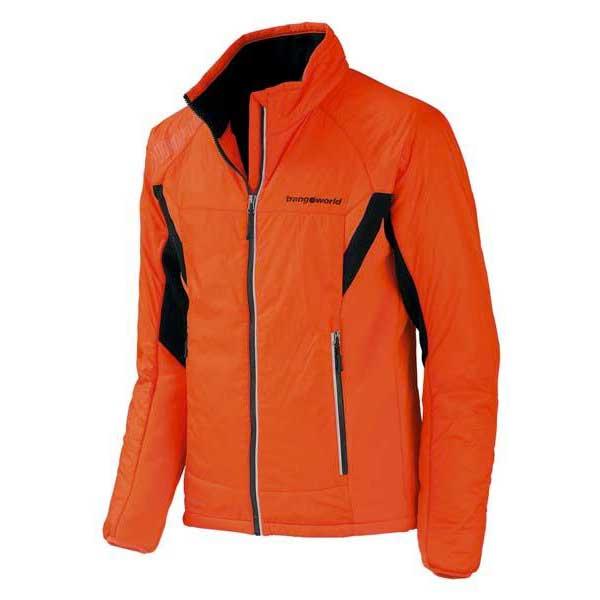Trangoworld Ynez Man Jacket M Tangerine Tango / Black