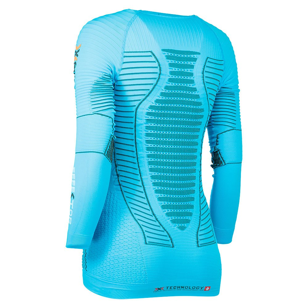 s X L Bionic Running T Turkis Antrasitt skjorter Effektor Power xU1rfqU