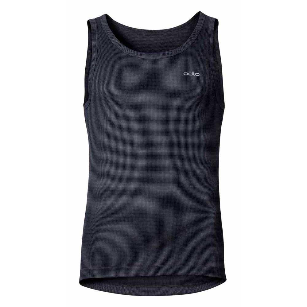 Odlo Crew Cubic Braces T-shirt S Ebony Grey - Black