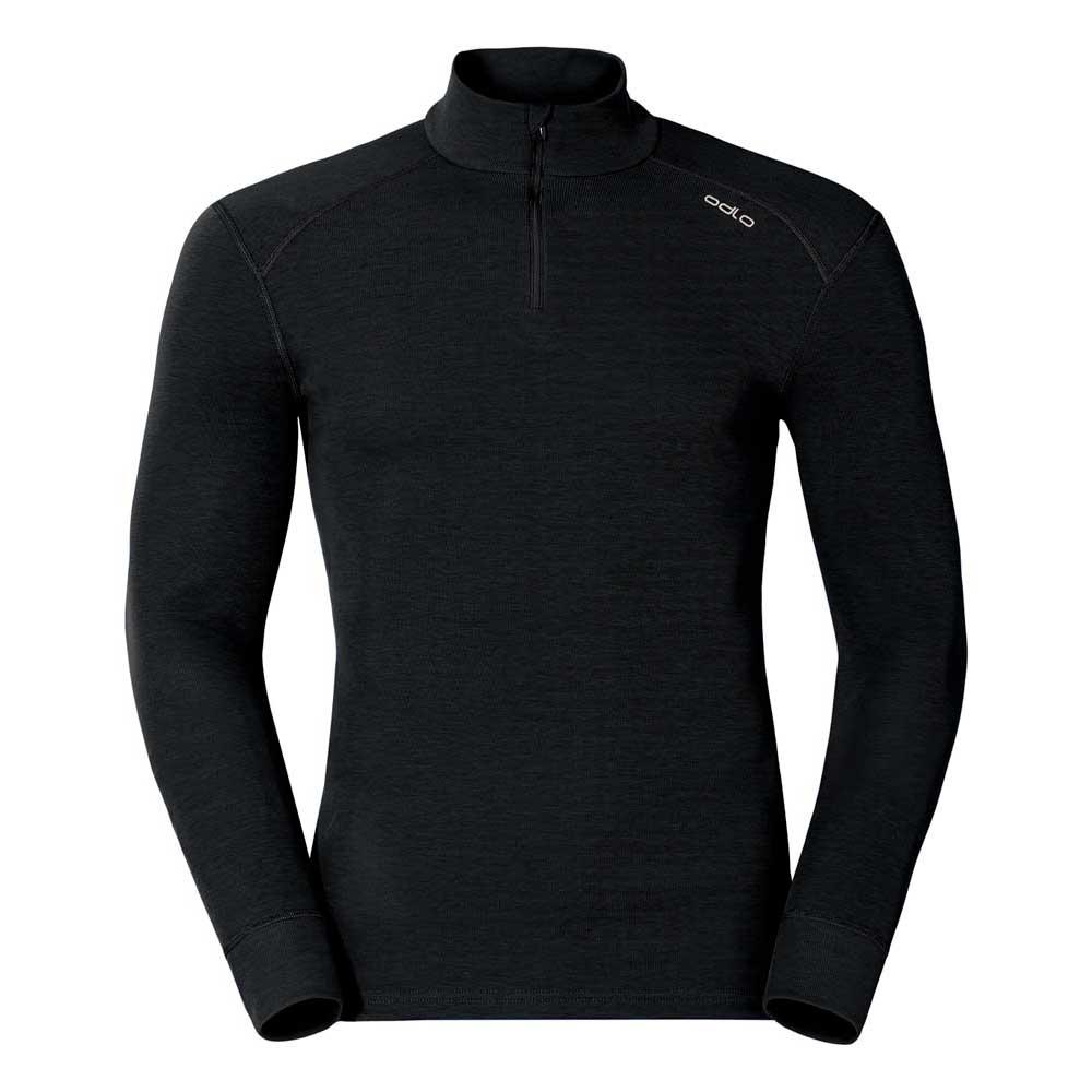 Odlo Shirt L/s Turtle Neck 1/2 Zip Warm S Black