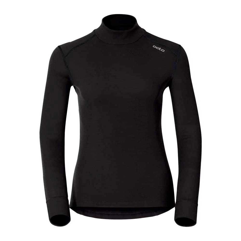 Odlo Shirt L/s Turtle Neck Warm S Black