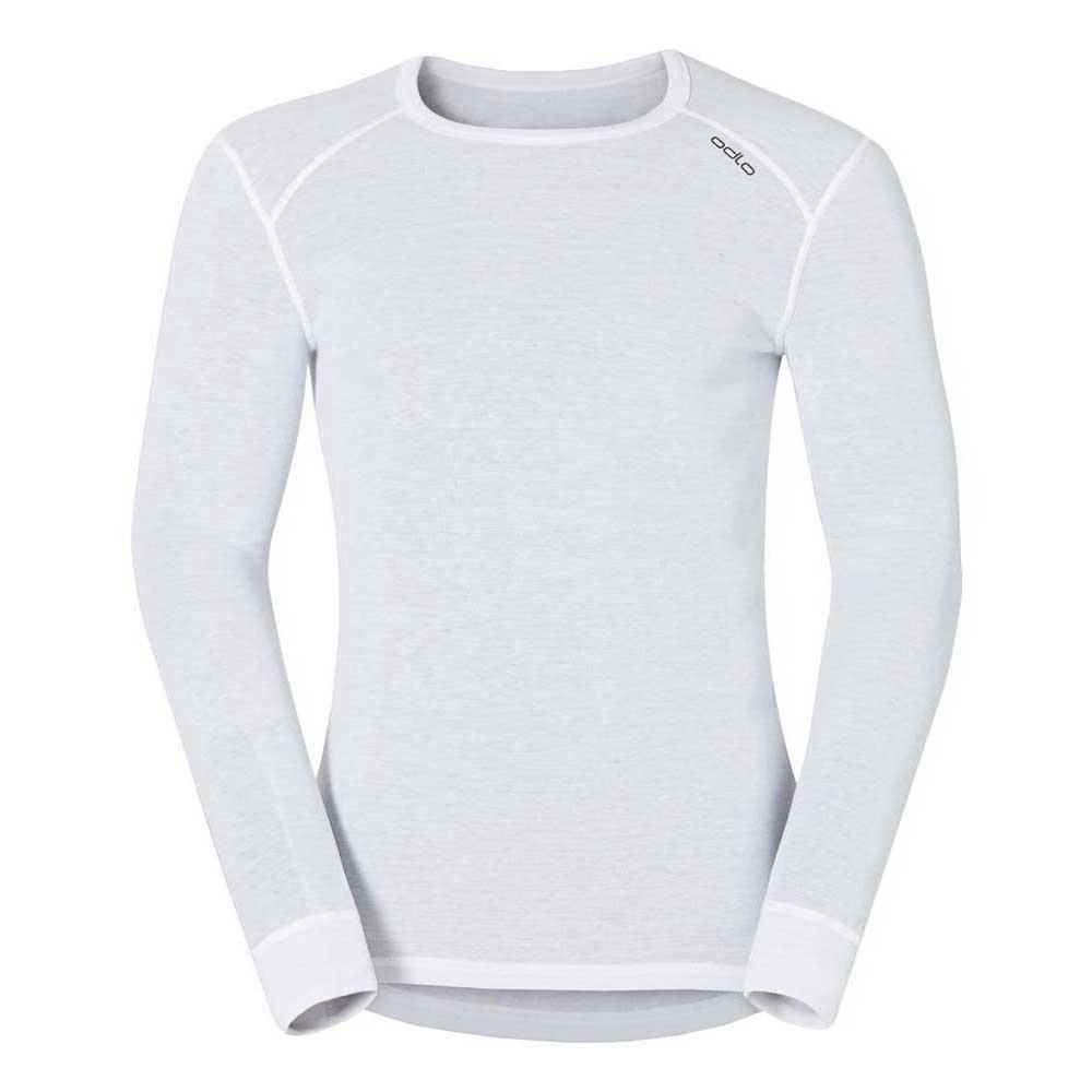 Odlo Shirt L/s Crew Neck Warm S White
