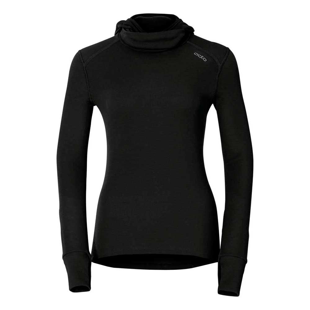 Odlo Shirt Crew Neck With Facemask Warm XXS Black