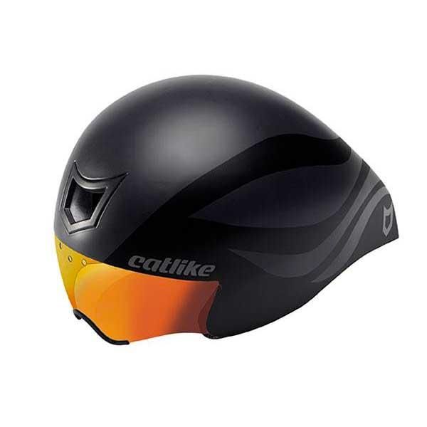 Catlike Chrono Aero Wt Wt Aero With Red Visor Multicouleur , Casques Catlike , cyclisme 128926