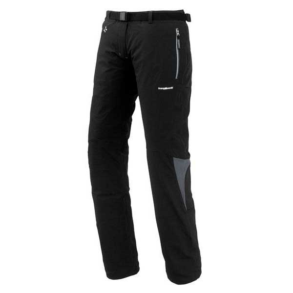 Trangoworld Pantalons Llanz XXL Black / Dark Shadow