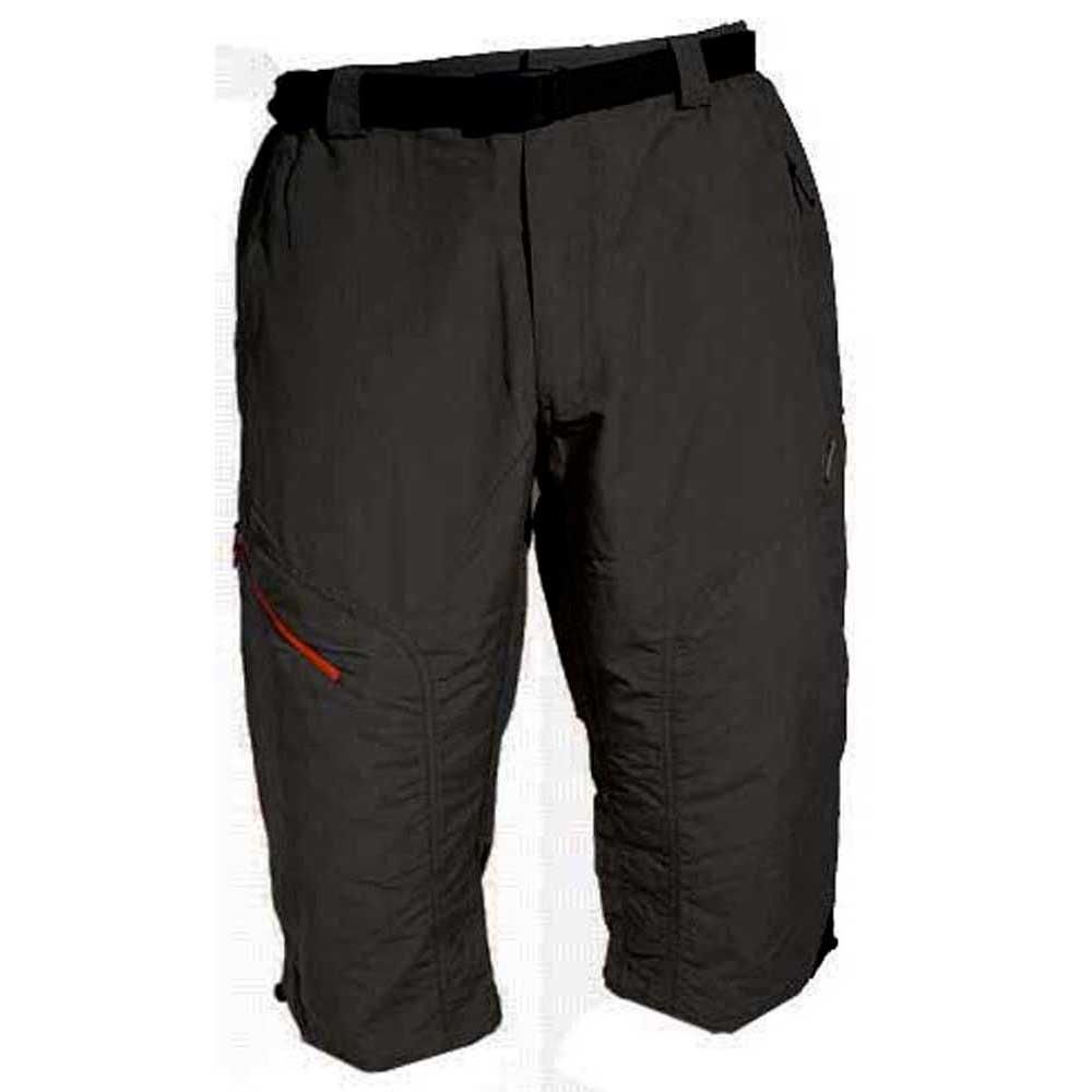 Trangoworld Pantalon 3/4 Brood XXL Grey Metal / Black