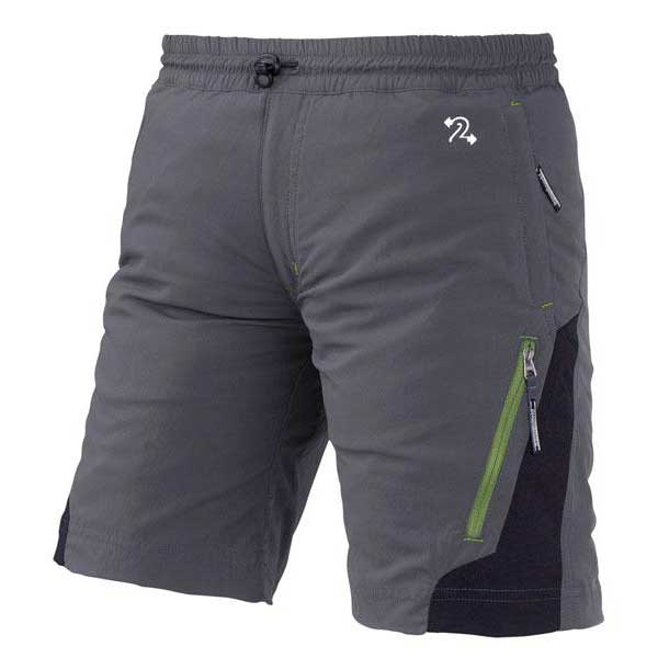 Trangoworld Shorts Odiel Pants Garçons 4 Dark Shadow / Black
