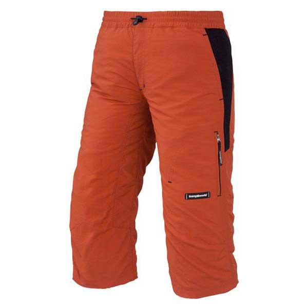 Trangoworld Pantalon 3/4 Wadis 4 Orange / Black