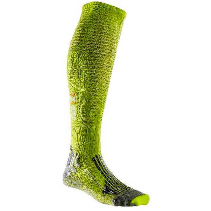 X-socks Effektor Competition S EU 39-42 Greenlime / Pearl Grey