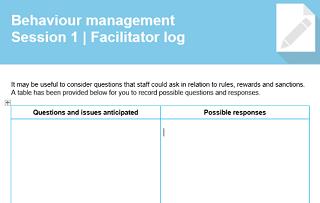 Fac log sample
