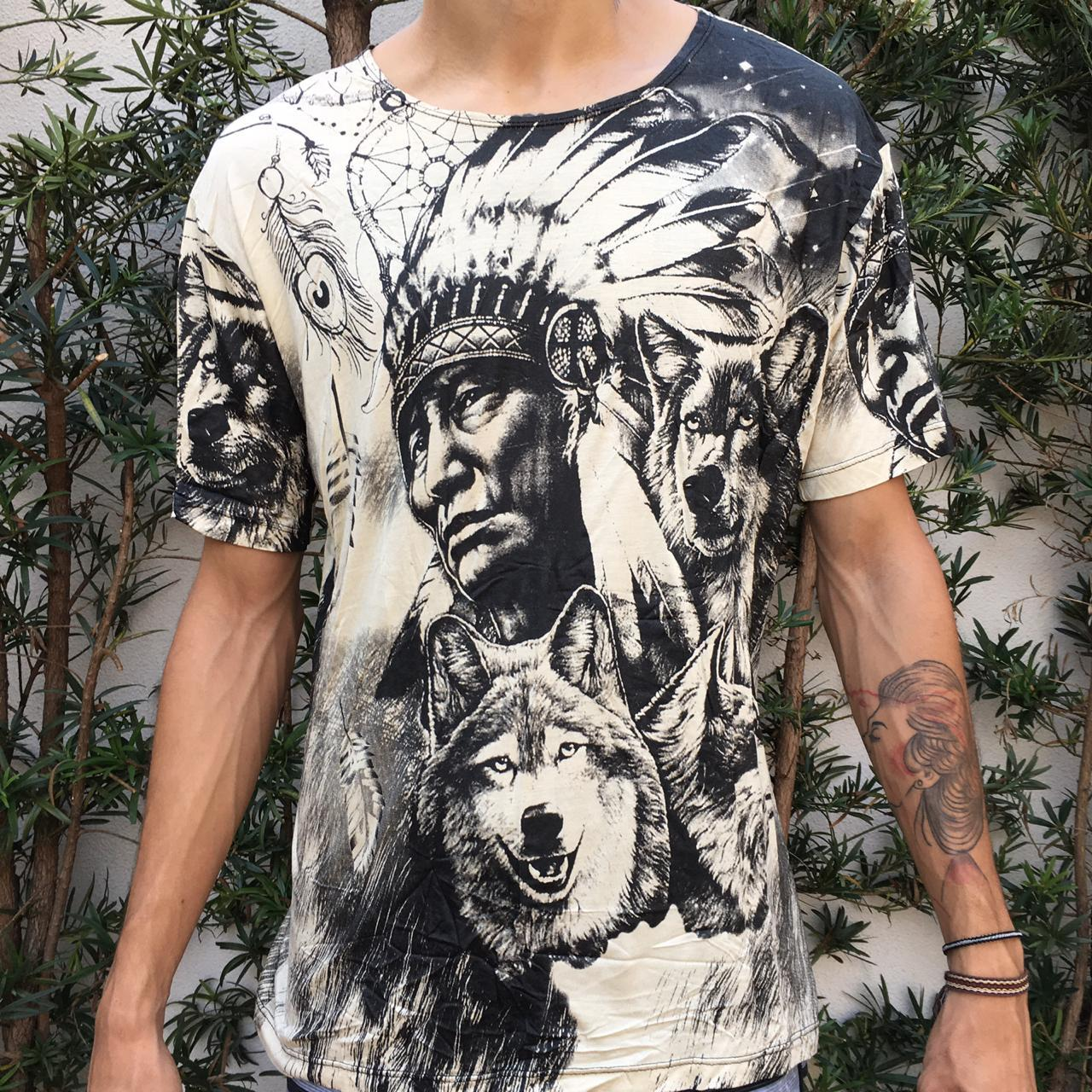 Camiseta Pajé Ancestral